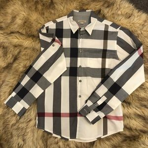 Burberry original print cotton shirt